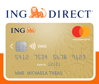 carte bancaire gold d'ing direct